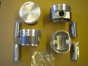 Piston And Ring Set Audi/Vw 1.8L Turbo 20-Valve Engine 1997-2006