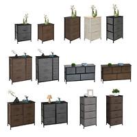 2 to 7 Fabric Drawers Storage Chest of Dresser Tower Closet Bedroom Organizer