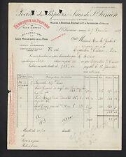 SAINT-JUNIEN (87) USINE du BAS-MOULIN /  PAPIERS & SACS D'EMBALLAGE en 1929