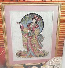Feng Shui Counted Cross Stitch Kit - Oriental Grace - Joan Elliott Gersha Kimono
