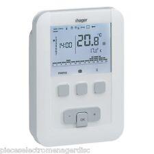 Thermostat umgebung programmierbar mit kabel modell HAGER EK520 draht