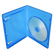 Blu-Ray 11mm Storage Cases for Single (1) Disc With Logo (Pack of 10) Branded...