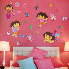 Wall Sticker Dora the Explorer Removable Mural Decals Kids Girls Home Decor DIY