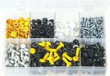 "Assortment Box of Number Plate Fasteners "" 240 Pairs  AB62"