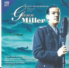 The Glenn Miller Orchestra Preform The Music Of Glenn Miller CD 4 Disc Set