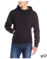 Jerzees Men's NuBlend Fleece Sweatshirts & Hoodies, Hoodie - Black, X-Large ~Z37