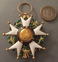 France - Légion d'honneur 2nde République Commandeur / Grand-Croix en or - 6cm