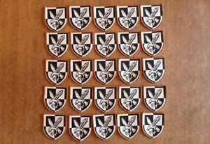 JOB LOT x25 NEW GENUINE BRITISH ARMY 16th AIR ASSAULT BRIGADE PATCHES (DESERT)