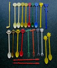 22 Vintage Swizzle Sticks Toronto Mount Royal Sudbury