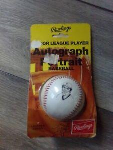 🔥New Sealed Vintage TOM SEAVER Rawlings Autograph Portrait Baseball RARE