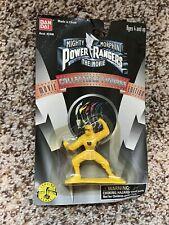 """Power Rangers Mighty Morphin Movie Yellow Ninja Ranger 2.5"""" Figure Bandai 1995"""
