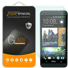 3X Supershieldz HTC One M7 Tempered Glass Screen Protector Saver