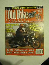 June 1999 The Old Bike Journal Magazine - BMW - Porsche NIghtmare (BD-33)