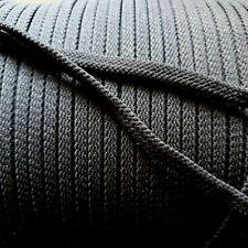 (0,80€/m) 10m elastische Kordel schwarz Band Schnur elastic