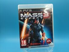 Video Game PS3 PLAYSTATION 3 Pal Fr Complete Mass Effect 3/USK18ans