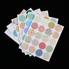 160 pcs Waterproof Round Paper Sealing Sticker Labels for ESSENTIAL OIL BOTTLE