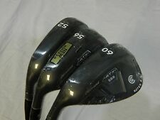New LH Cleveland RTX 2.0 Black CB Wedge Set 52* 56* 60* Wedges Low Bounce