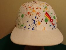 "Jay Z Rocawear Multi-color Paint Splatter ""R"" LOGO  Fitted Hat Cap 7-1/2"