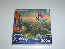 Ceaco Thomas Kinkade Disney Jigsaw Puzzle 300 Piece Aladdin New Sealed