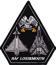 RAF Lossiemouth Royal Air Force Tornado & Typhoon SPEARHEAD Embroidered Patch