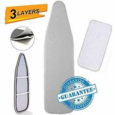 Ironing Board Cover Pad, Silicone Coated Resists Scorching Staining Pads Elastic