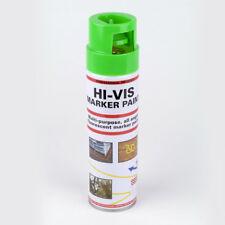 1x 500ml HI-VIS Fluorescent Marker Paint (1 x 500ml Can) Green