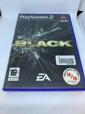Black - PS2 - Playstation 2 - 6B - 1315