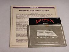 Sky Fox Ray Tobey Commodore 64 Floppy 1985 Helicopter Fighter Simulator Game DB