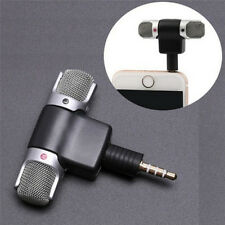 M&C Mini Stereo Microphone Mic Audio For PC Laptop Notebook Talk 3.5mm