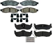 Front & Rear Ceramic Brake Pad Set Kit ACDelco For Infintii QX56 Nissan Titan