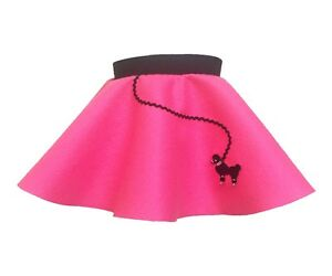 Hip Hop 50s Shop Baby/Infant Girls 6-12 Month Poodle Skirt Halloween Costume