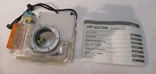 Canon WP-DC700 Digital Camera Waterproof Case Housing w/ User Guide - EUC!