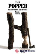 La miseria del historicismo. NUEVO. ENVÍO URGENTE (Librería Agapea)