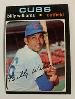 1971 Billy Williams # 350 Chicago Cubs Topps Baseball Card HOF