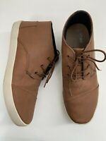 TOMS Chukka Boots Men's Brown Ankle Lace Up Shoes sz  9