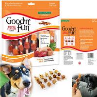 DOG TREATS TRIPLE FLAVOR KABOBS Healthy Gourmet Chicken Duck Chews 18 pcs Pack