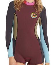 Billabong Girls Springsuit Surf Capsule Fever LS Shorty (10)