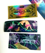 ZOX **GALACTICATS** GOLD Strap med Wristband w/Card New Mystery Pack GOLD CARD