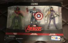 For Sale/Bid; Sam Wilson Cap & Kate Bishop Hawkeye Marvel Legends Unopened