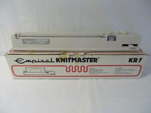 Empiral Knitmaster KR-7 Knitradar - Boxed with pattern sheets