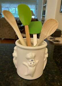 Pillsbury Doughboy Utensil Holder -- Used but excellent condition