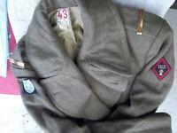 manteau adjudant-chef du 153éme RI division Marocaine de montagne