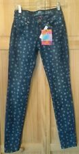 Almost Famous Floral Skinny Jeans size 3