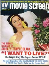 Shirley Temple Black Barbra Streisand David Carradine TV and Movie Screen Mar 73