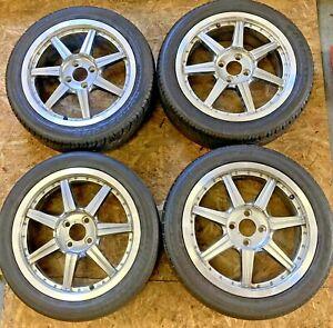 "Aftermarket Fiat 500 16"" Wheel & Tyre Set"