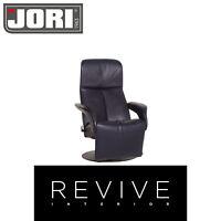 Jori Symphonie Leder Sessel Blau Dunkelblau Funktion Relaxfunktion #12730