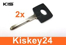 2x Ersatz Auto Schlüssel Rohling für Mercedes Benz C180 C200 C220 C280 C300