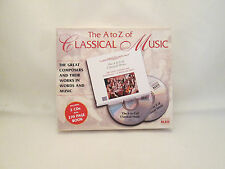 """NAXOS """"The A to Z of Classical Music"""" 2 CD's and 270 page Booklet"""