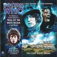 DOCTOR WHO Big Finish Audio CD Tom Baker 4th Doctor #1.5 TRAIL OF THE WHITE WORM