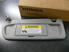 2006-2008 GENUINE HONDA CIVIC DRIVER SIDE CLEAR GRAY SUN VISOR NH220L